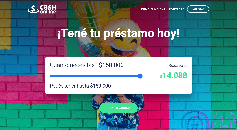 Cash Online - Préstamo de hasta $150 000