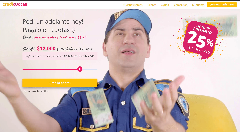Credicuotas - Préstamo de hasta $75 000
