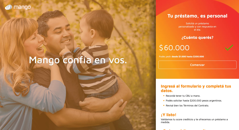 Mango - Préstamo de hasta $200 000