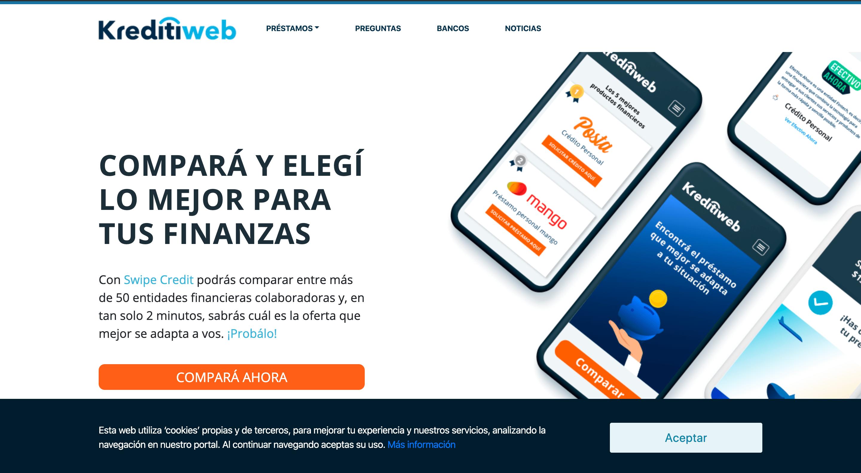 Kreditiweb – Préstamo de hasta $650 000