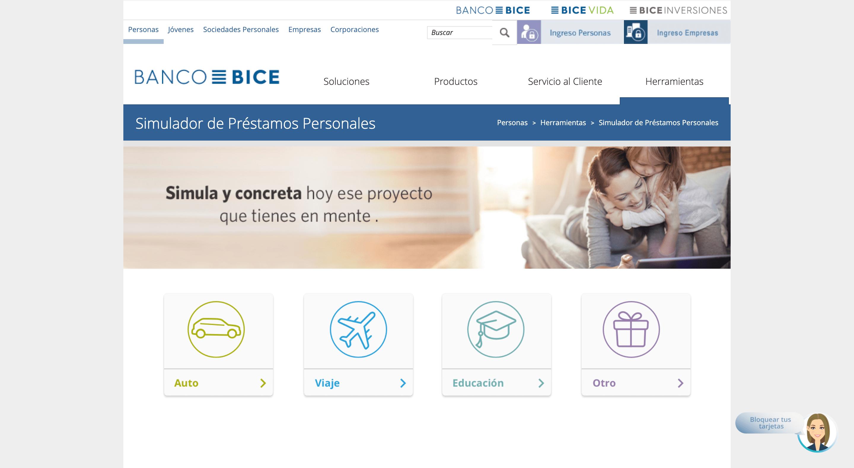 Banco BICE opiniones, comentarios