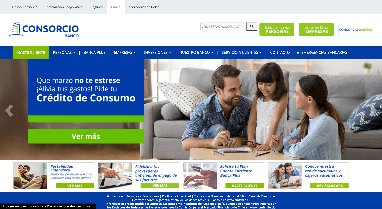 Banco Consorcio – Préstamos hasta $50 000 000