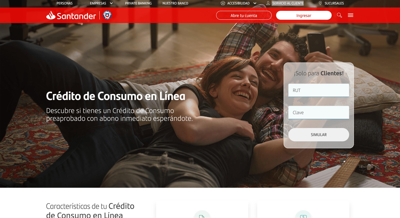 Banco Santander – Préstamos hasta $137 395 000