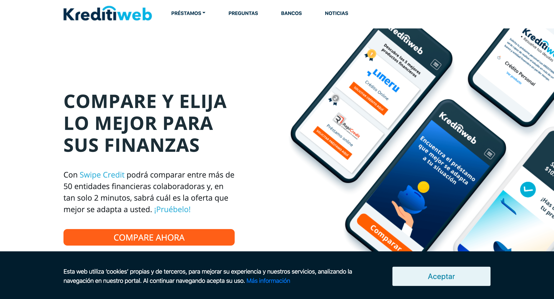 Kreditiweb - Préstamo de hasta $10 000 000
