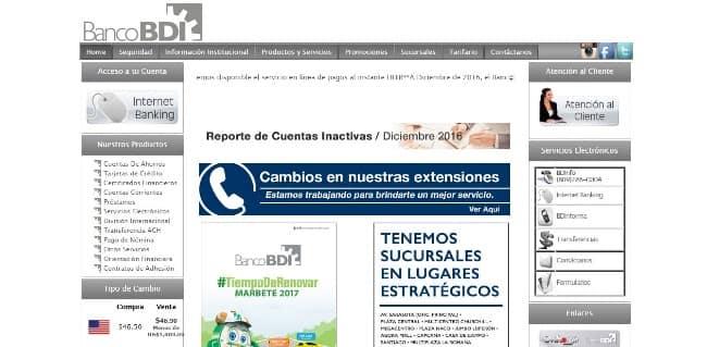 Banco BDI - de hasta RD$1 000 000