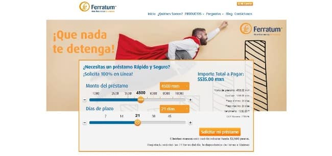 Ferratum - Préstamo de hasta $10 000