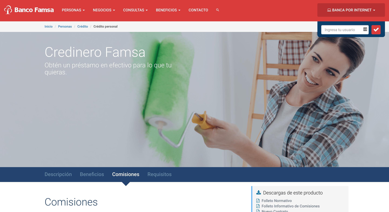 Banco Famsa - Créditos hasta $100 000