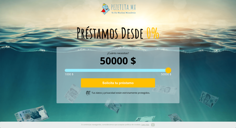 Pezetita - Préstamos hasta $50 000