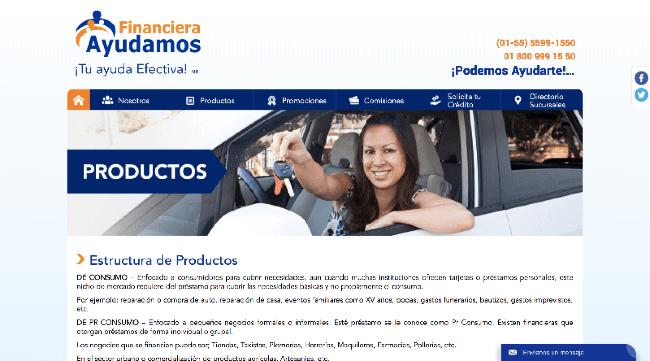 Financiera Ayudamos - Préstamos hasta $55 800