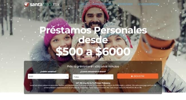SantaCredi - Préstamos hasta $6000