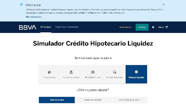 BBVA Bancomer hipoteca