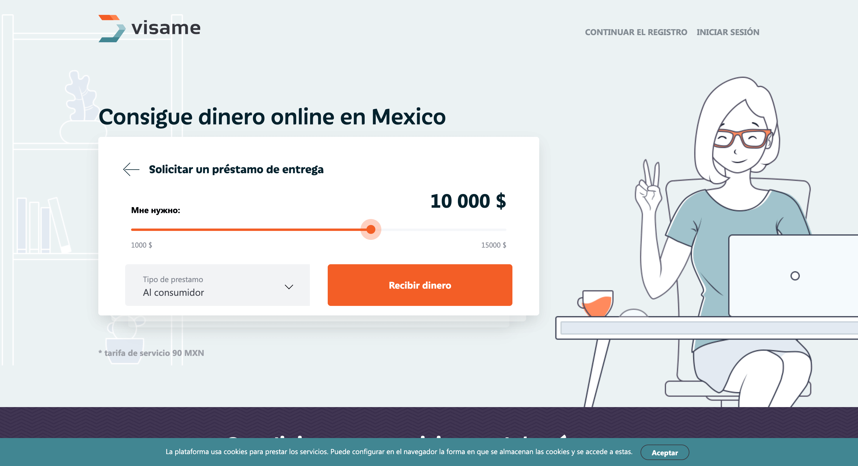 Visame - Préstamos hasta $30 000