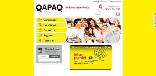 Qapaq – Préstamo de hasta S/6 000