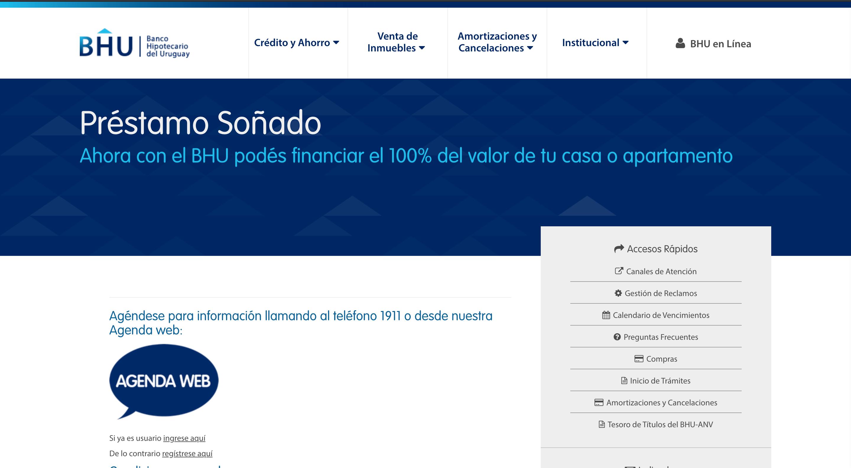 BHU Crédito Hipotecario