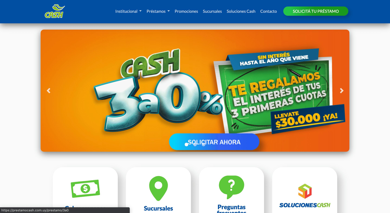 Cash - Préstamo de hasta $250 000