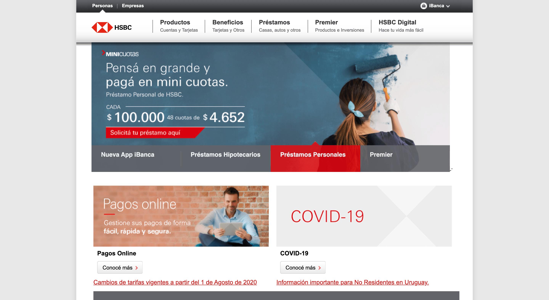 HSBC - Préstamo de hasta $500 000