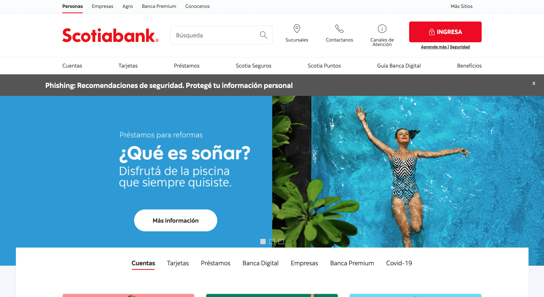 Scotiabank - Préstamo de hasta $500 000